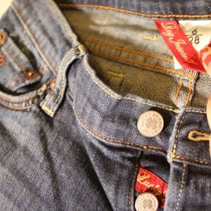 Lucky Brand Jeans - Flower Embroidered Pocket Jean